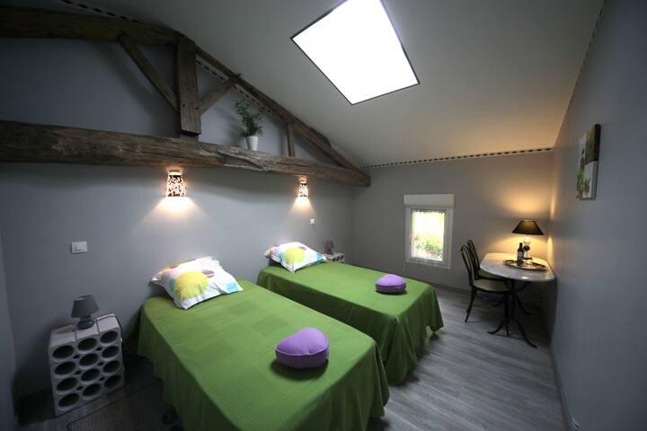 Chambre d'hôte sur propriété Viticole : Mélusine - Civrac-en-Médoc - Bed & Breakfast