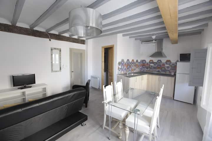 Apartamento bicentenario restaurado con encanto