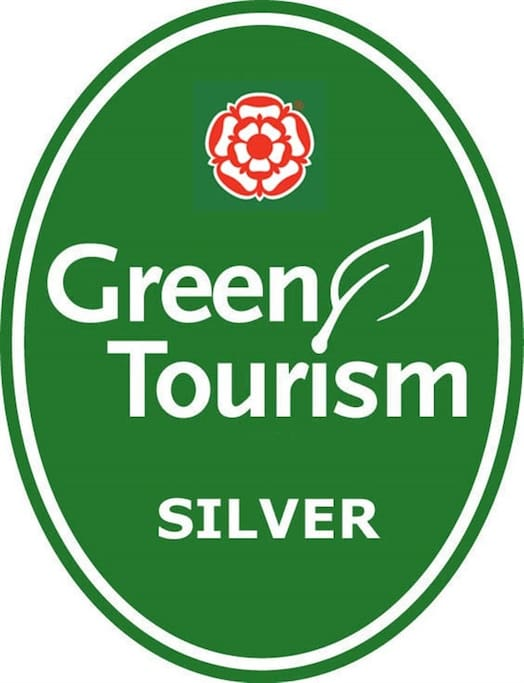 Proud of our Silver Green Tourism rating!