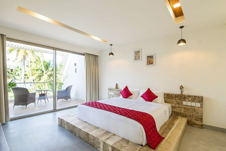 Golden Deluxe Room - Ente Kumbalanghi Home Stay