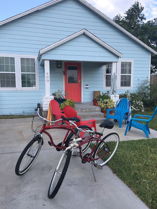Bikes are a great way to get around town