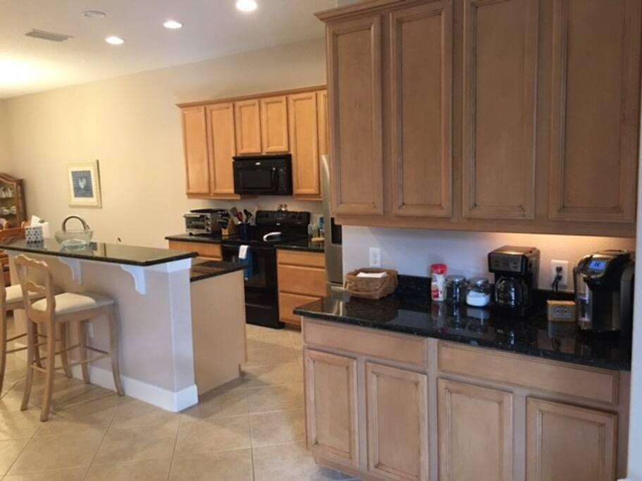 Kitchen Serving Area