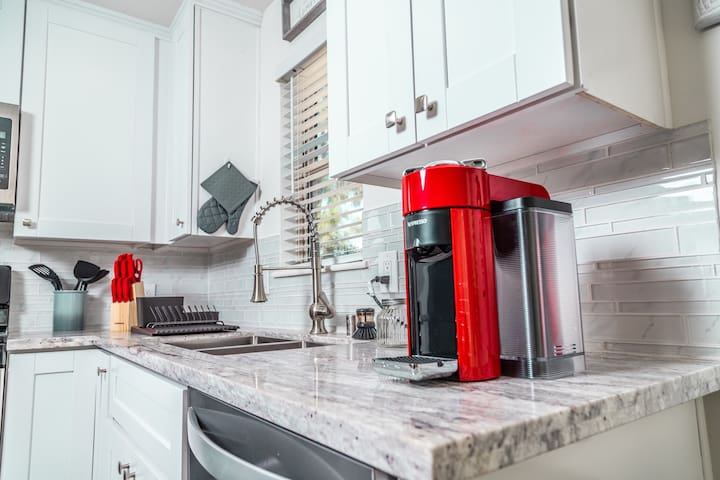 Beautiful  and Delicious NESPRESSO Coffee Maker