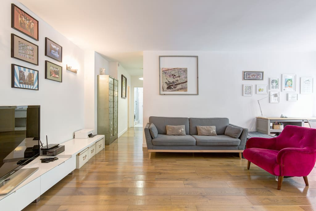 Appartement familial 80m 3 bedrooms 75016 paris for 3 rooms for 1999