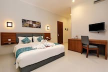 Private Room with Large swimming Pool @ Denpasar