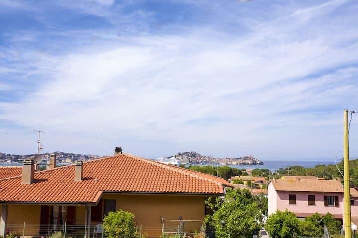 Conchiglie tworoom in the Greenery of Portoferraio