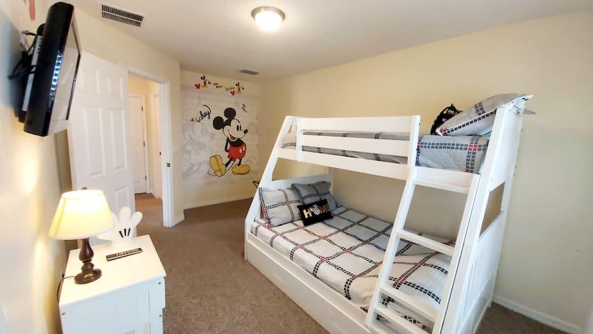 Bedroom #3 (second floor)