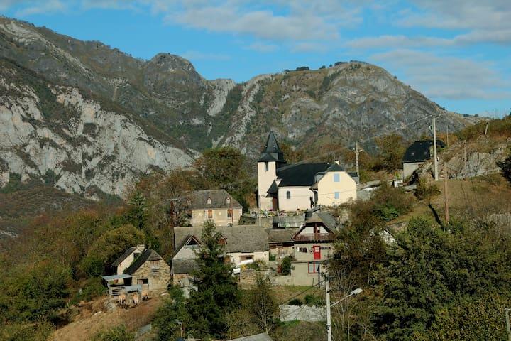 Location maison Saint Pastous 6 à 8 personnes - Saint-Pastous - Ház