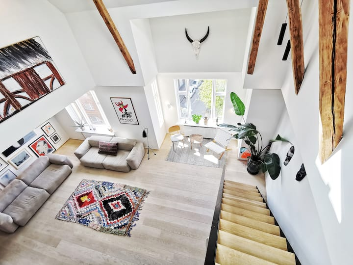 "Amazing Penthouse in ""latin quarters"" Nørrebro"