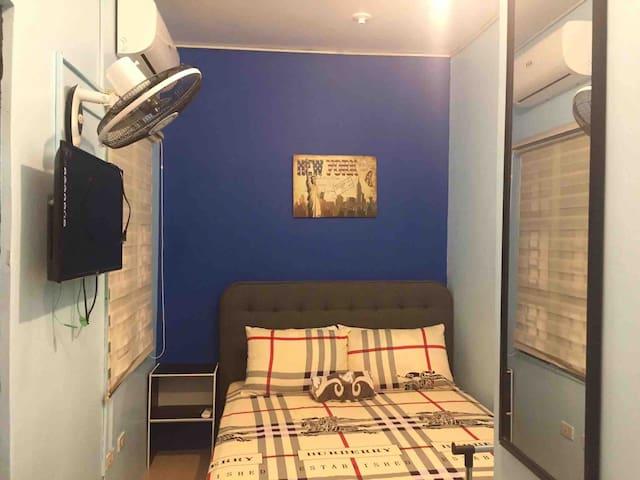 Lucena Apmnt-VIP Unit1- Queen Bed Near SM-WIFI
