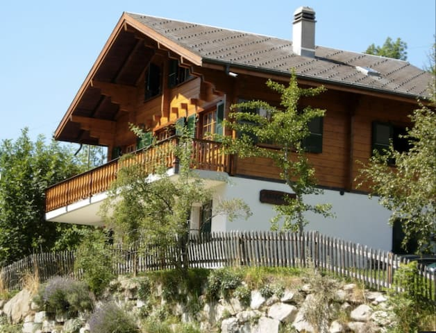 Beautiful Chalet Anne-Marie - Fiesch - Chalupa