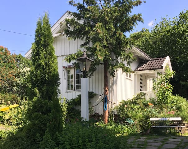 An annex with a view - close to city center. - Kongsberg - Casa