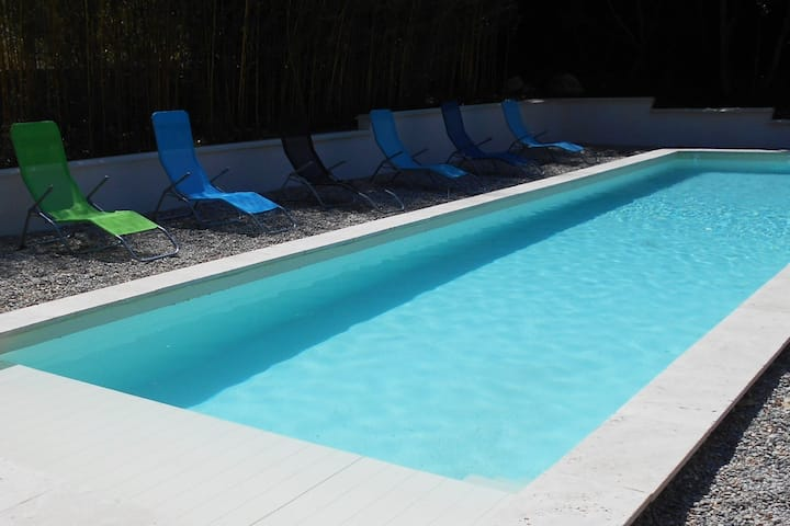 Sweet home away from home, w/ pool, in the Luberon
