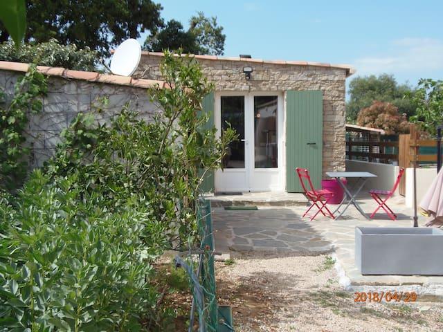 jolie mini villa studio style bergerie corse