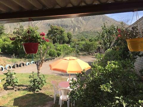 Posada Anita at Puéllaro.Great adventures