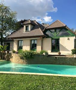 3 chambres maison piscine 12km Lyon - Fontaines-Saint-Martin