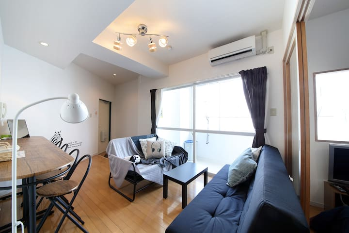 Cozy Apt. 7ppl Near Osaka castle  #31