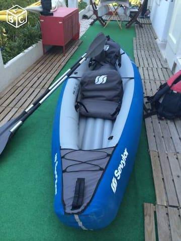 Kayak  pour decouvrir les calanques - La Ciotat - Boot