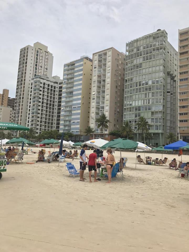 PÉ NA AREIA Wi-fi Apto 2-A Top Praia Pitangueiras