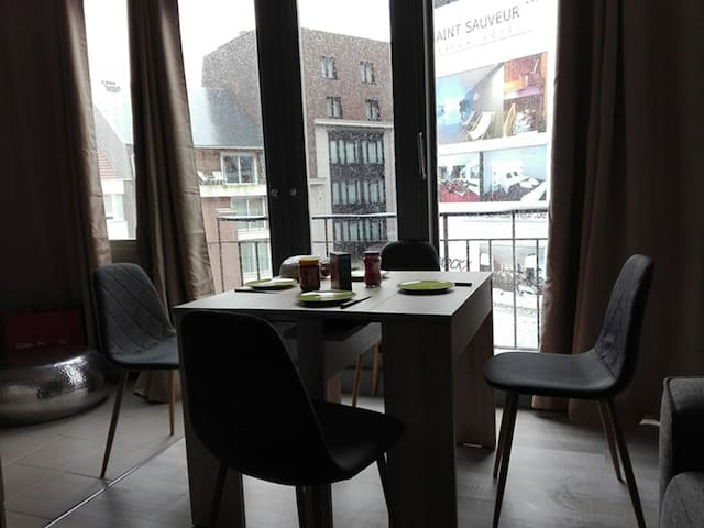 Cosy appartment perfect ligging in Blankenberge