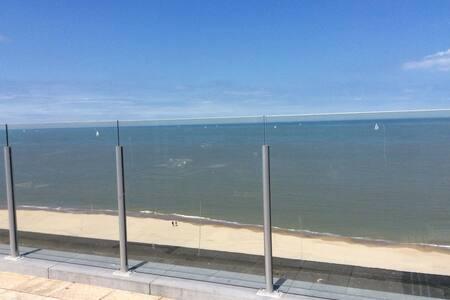 Prachtige penthouse met zee- en duinenzicht