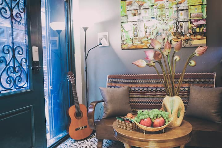 3BRs/Super Location/Comfort Beds/Free Laundry/Safe