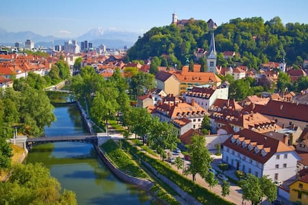 Greatly located apartment to experience Ljubljana - Ljubljana - Wohnung