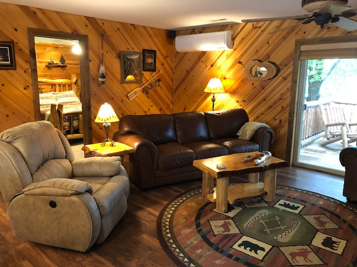 Cozy cabin on Green Lake