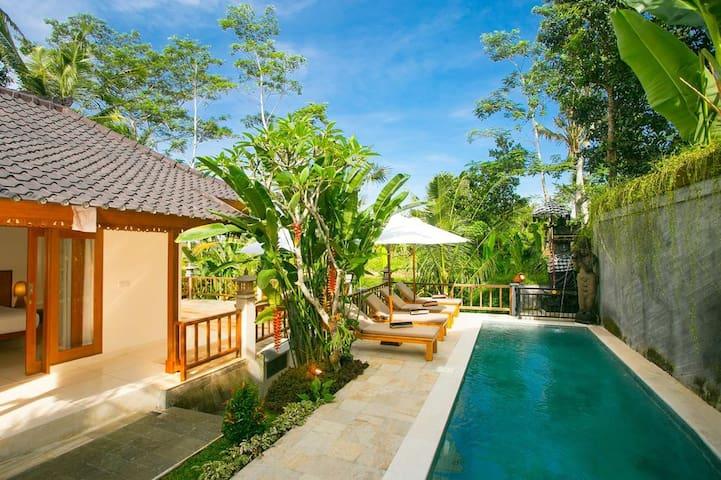 Pesantian Villa and warung - อูบุด