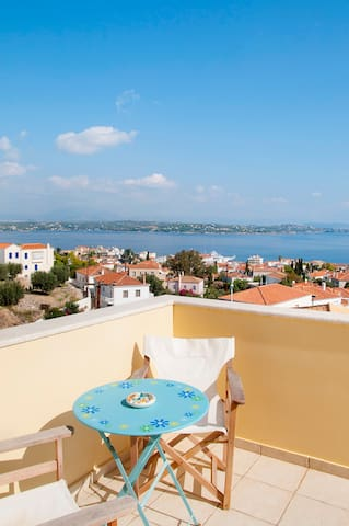 Spetses Panorama Pool Villa - Spetses - Villa
