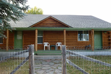 Aspen Pine Duplex Cabin- ASPEN SIDE