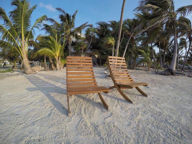 Tony's On The Beach -  Mahahual, Q. Roo, Mexico