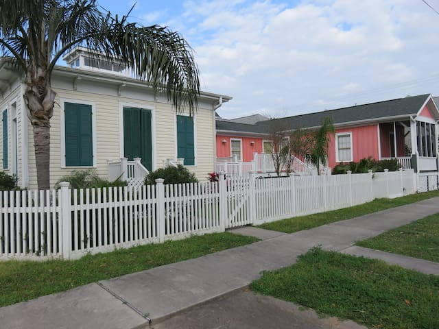 Galveston Historic Cottage - Galveston - Casa
