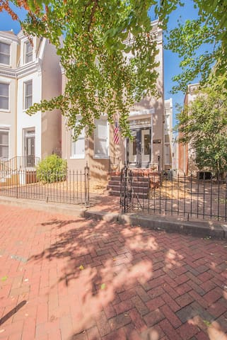 Located in the Historic Madison District in central Richmond. Built in the late 1800's and renovated in 2019.  Includes a private parking space on site for one (max mid-sized) passenger vehicle.