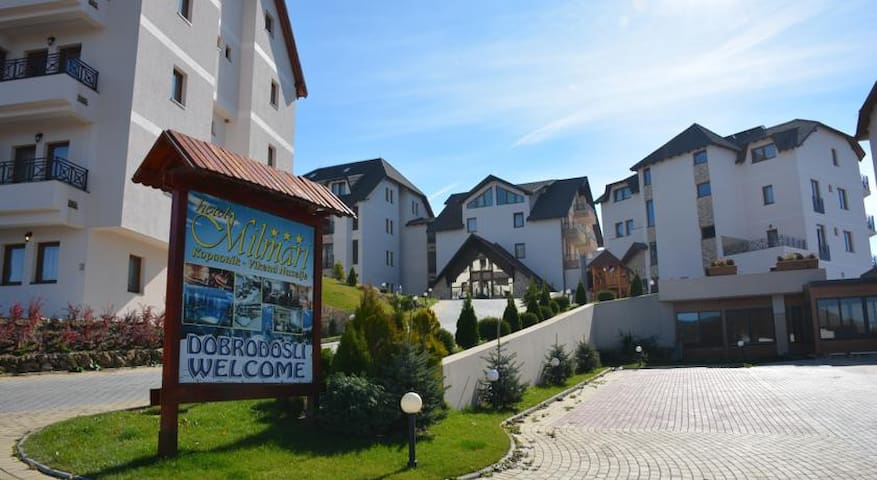 Milmari resort studio apt F9 with amazing views - Kopaonik - Wohnung