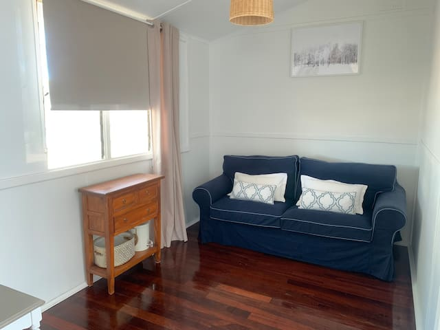 The 'Sun room' with double pull out sofa bed