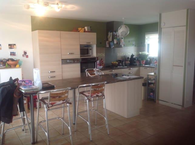 Maison avec jardin tout équipé - Acigné - Casa