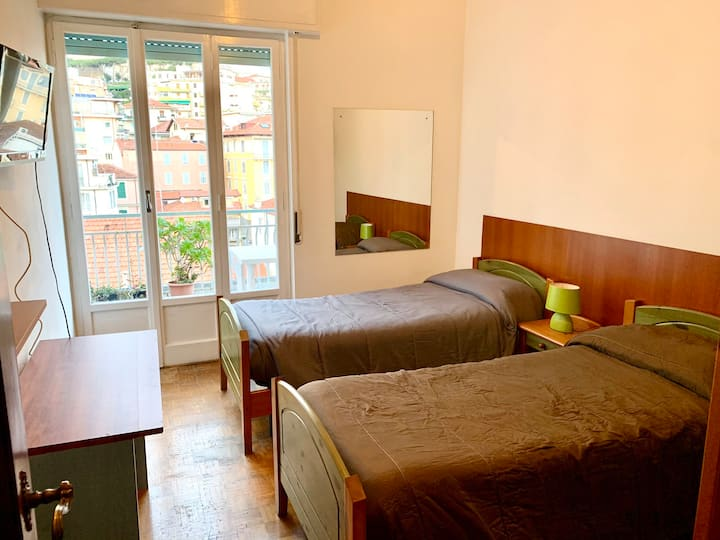 Camera 2 letti individuale con terrazza
