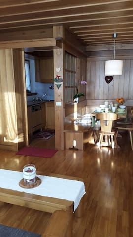 Apartment in the Dolomites 10 km from Cortina D'A. - San Vito di Cadore - Huoneisto