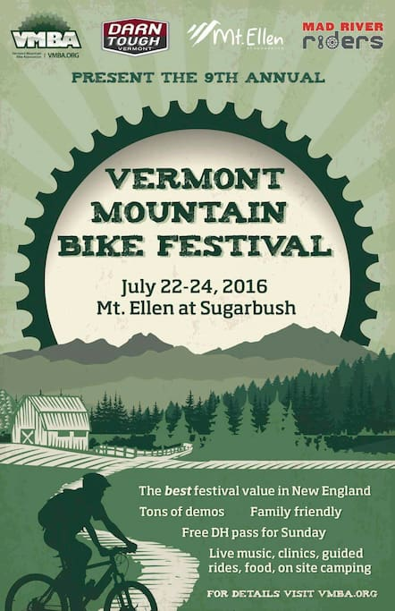 The Mad River Valley is hosting the 9th annual VMBA Festival!