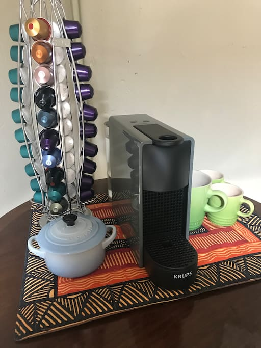 Nespresso machine for use at any time