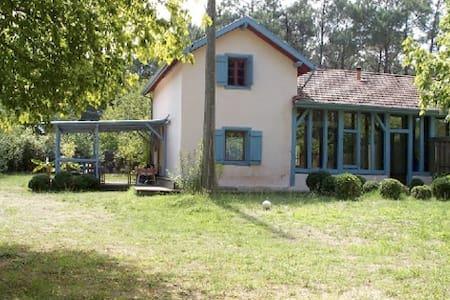 maison landaise ancienne rénovée, option roulotte - Magescq - Hus