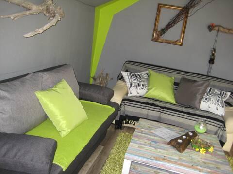 2 rooms in the Villa Filou