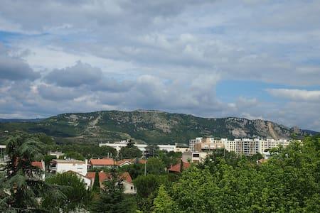 Chb 1 ou 2 pers. avec vue sur l'Ardèche - Valence