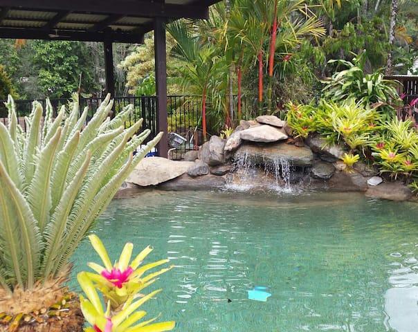 Acreage,Tropical Gardens+Pool+Creek
