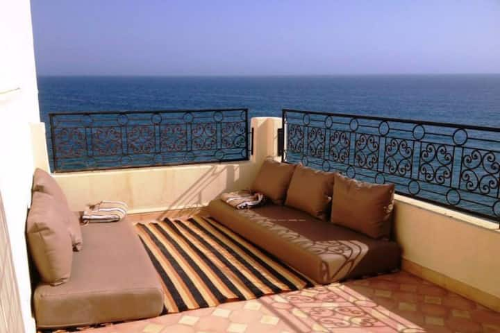Maison Taghazout vue mer 4 chambres