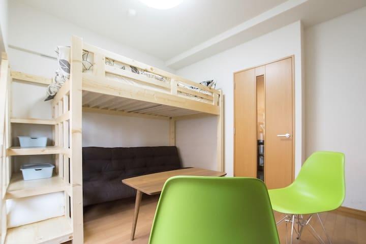 Modern, clean & convenient room in Tokyo