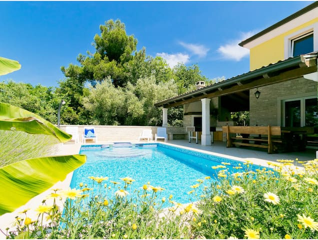 Istrian Villa Kanal -1.5km from sea