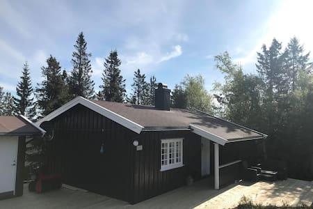 Koselig liten hytte ikke langt fra Bø sommarland