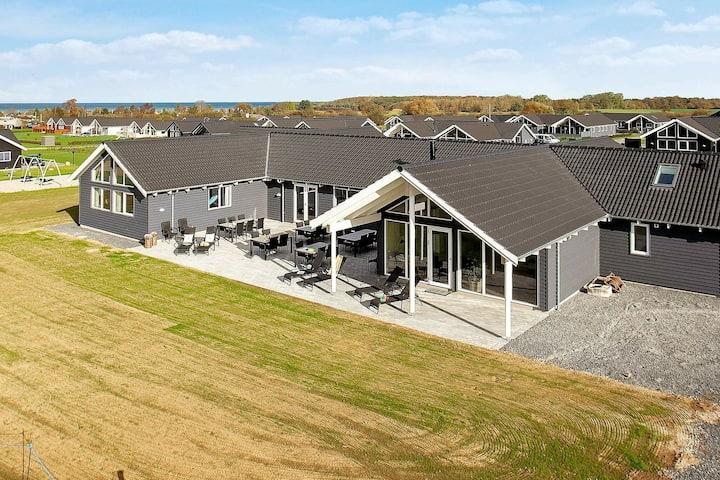 Amplia casa de vacaciones en Funen con terraza